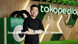 Sosok William Tanuwijaya - CEO Tokopedia